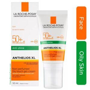 全效啞緻清爽防曬乳 hk la roche posay sunscreen  La Roche Posay Anthelios XL Dry Touch Gel-Cream Anti-Shine SPF 50+  ean 3337875546409