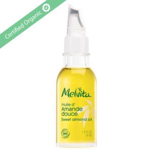 melvita organic almond oil 50 ml