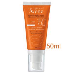 Avene Sun Care Cream SPF50+ Fragrance Free 50ml