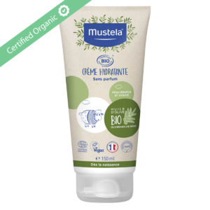 The Moisturizing Cream, face and body, certified Organic, protects and respects the skin, even the most sensitive.
