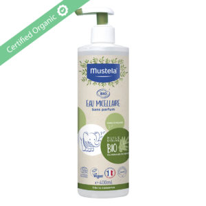 Mustela Organic Micellar water 400 ml For Whole Family [Babies]