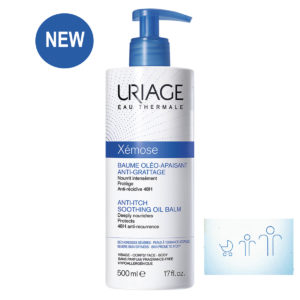 Uriage Xemose Anti-Itch Soothing Oil Balm 500 ml