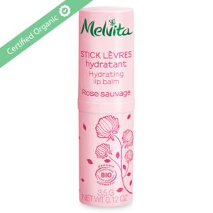 "Melvita Organic Rose lip Balm "" Nectar de Roses"" 3.5g"