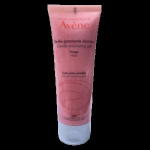 tube of Avene Gentle Exfoliating Gel 75ml