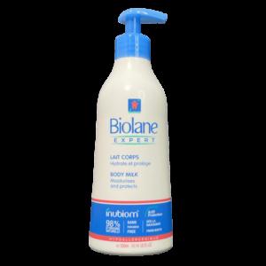 Pump bottle of Biolane Expert Body Milk 300ml