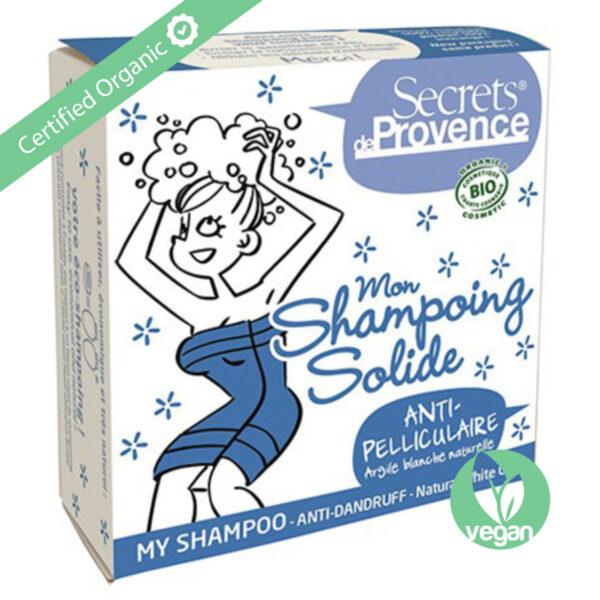 Secret de Provence Organic Solid Shampoo Anti-Dandruff 85g